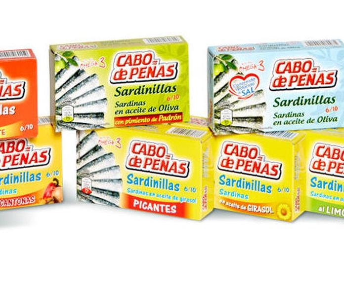 GAMA SARDINILLAS CABO DE PEÑAS