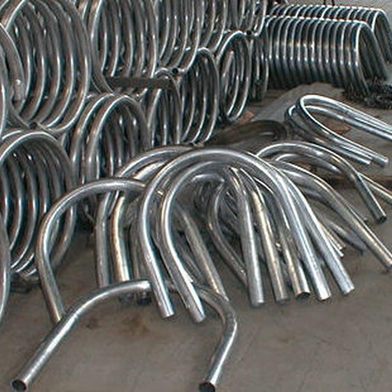 Instalaciones tubos curvado en general.: Servicios de Corbats, Metàl.lics i Mecanitzats, S.L.