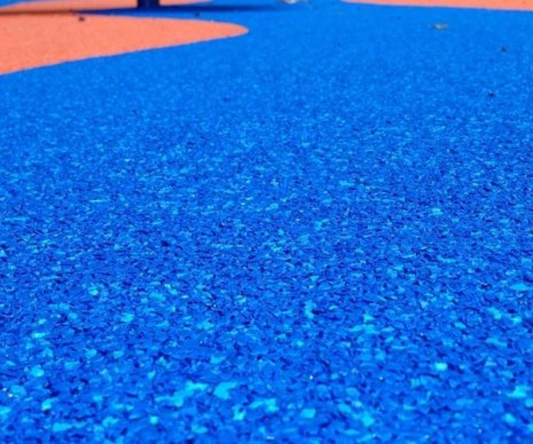 La limpieza de los suelos de caucho