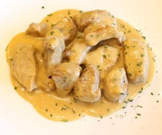 Tortilla de patata con cebolla y pimiento: Nuestros productos  de Precocinados Mi Tierra