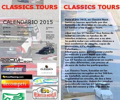 GT Tandas y Classics Tours Circuito de Calafat, Tarragona