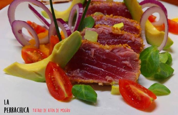 Tataki de atún de Mogán
