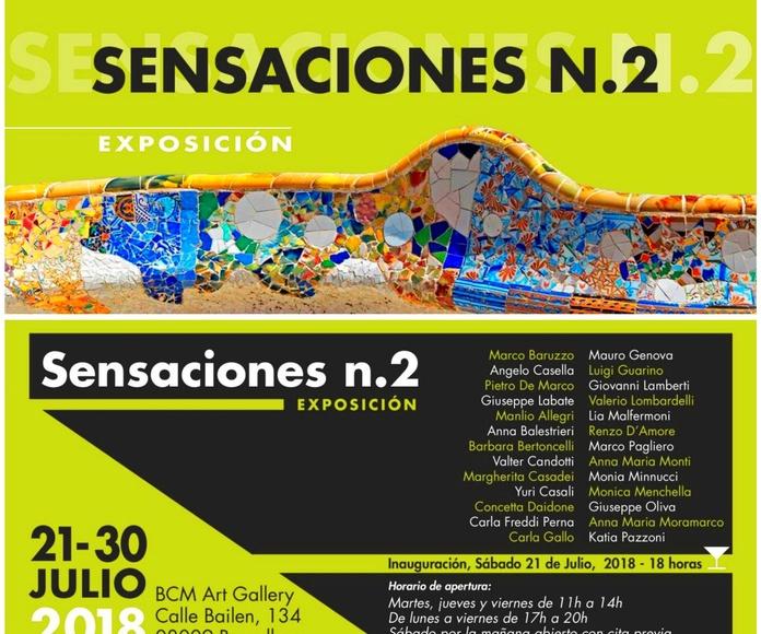 SENSACIONES II: Exposiciones y artistas  de BCM Art Gallery