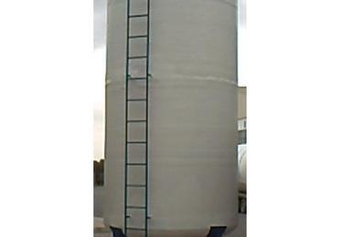 Depósito vertical con patas