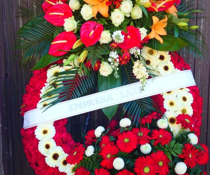 Funerarios: Nuestros Trabajos de Floristería Mª Luisa