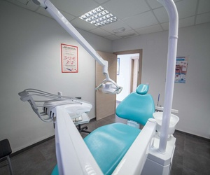Gabinete para los tratamientos dentales