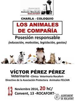 CHARLA SOBRE TENENCIA RESPONSABLE DE MASCOTAS