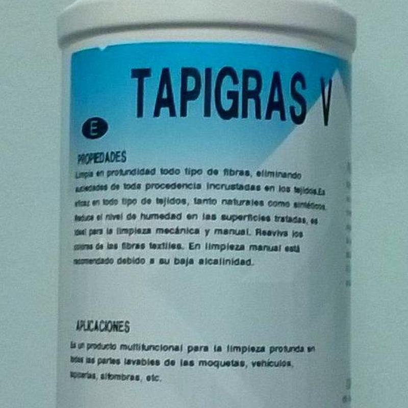 TAPIGRAS V   750ML.: SERVICIOS  Y PRODUCTOS de Neteges Louzado, S.L.