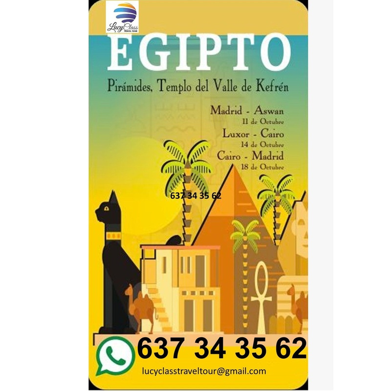 Octubre Egipto: Destinos de Lucy Class Travel Tour