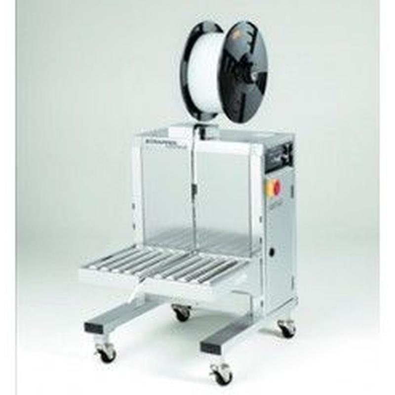 Flejadoras de Paquetes. Semi-automáticas: Productos de Sistemas de Embalaje Miguel D, S.L.