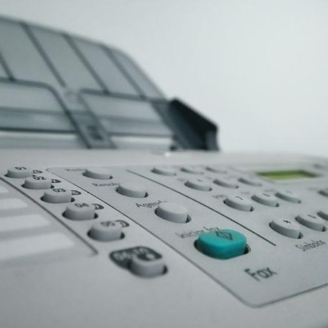 ¿Cómo funciona un fax?