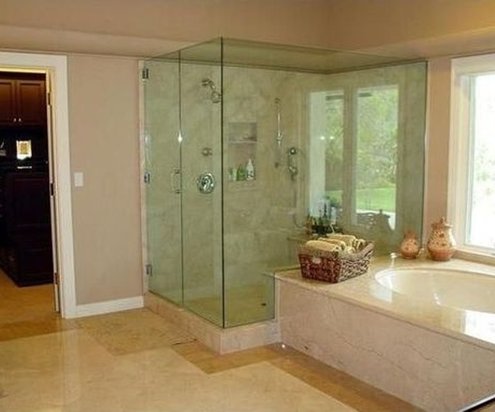 Mamparas de baño: Catálogo de Cristalería Estudiantes Vidrio y Servicios