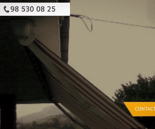 Toldos para terrazas en Gijón