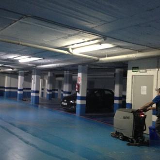 Limpieza de comunidades y garajes