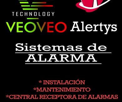 Sistema de Alarma con conexión a Central Receptora de Alarma