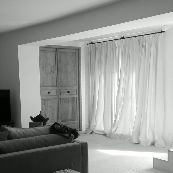 Diferencia entre cortinas y estores