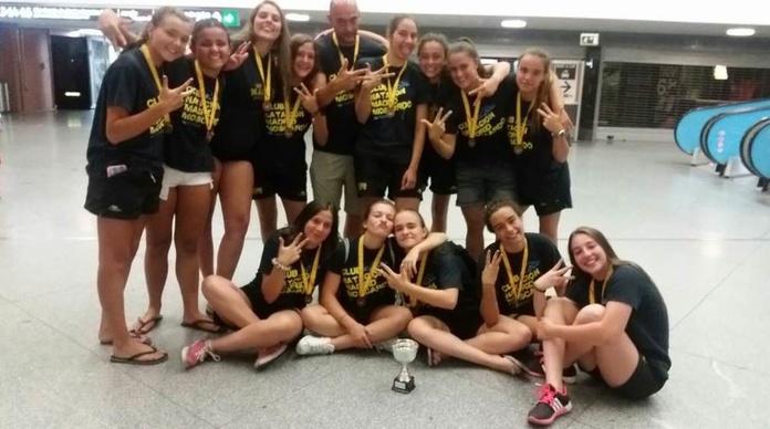 Las cadetes conquistan el bronce en el Campeonato de España