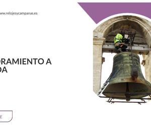 Reparación de campanas de iglesia en Valencia | 2001 Técnica y Artesanía