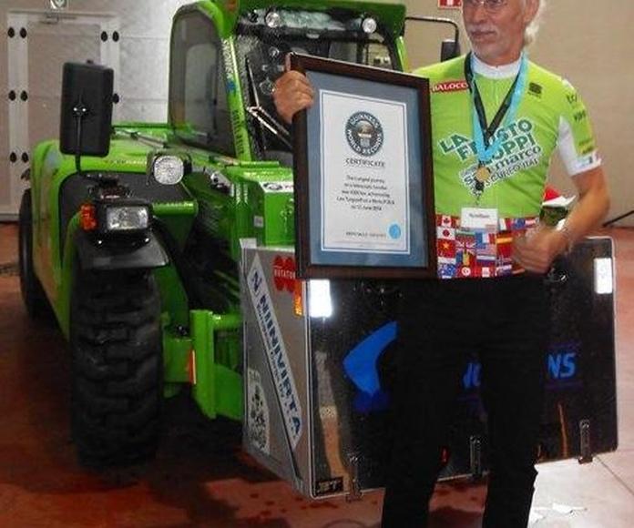MERLO: Completada con éxito la aventura del Libro Guinness de los Récords®