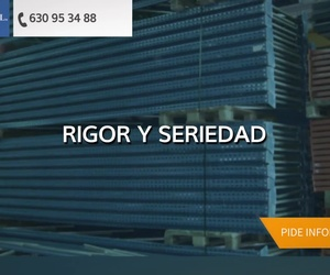 Venta de estanterías metálicas en Toledo | Frada