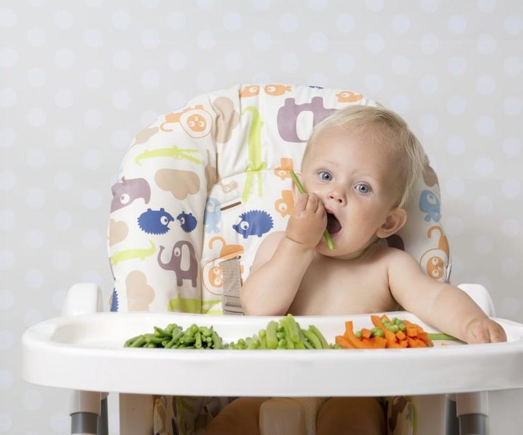 ¿A qué edad empiezan a masticar los niños?
