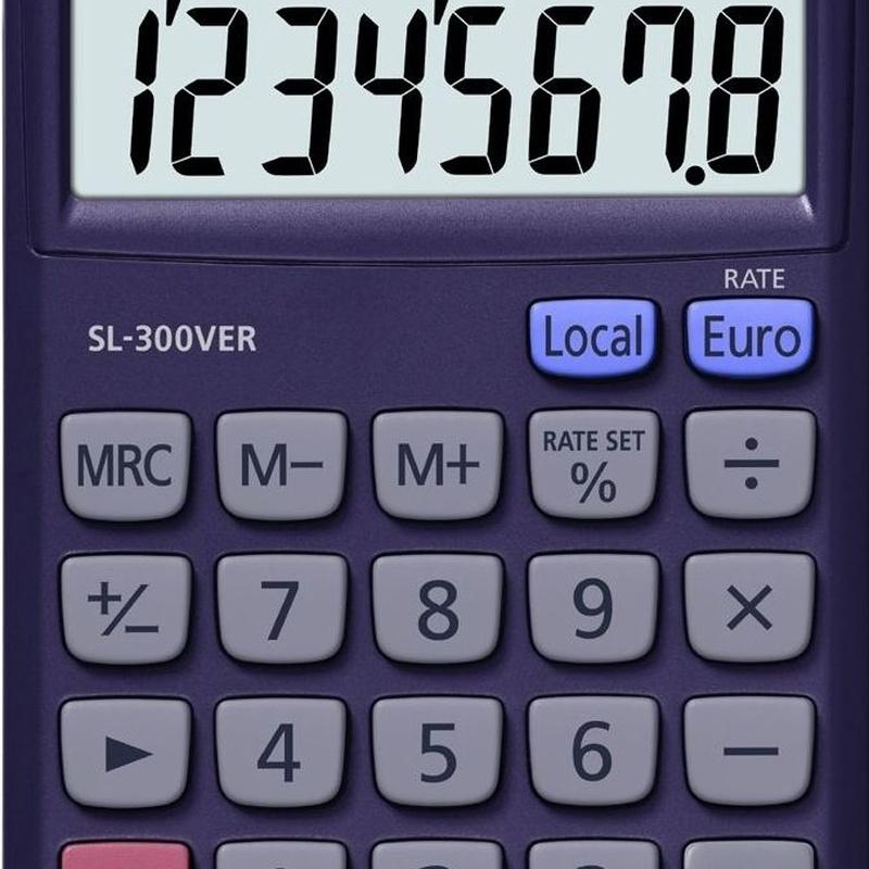 CASIO SL-300VER: Productos y Servicios de Rosan