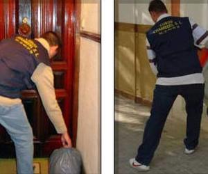 Recogida y sacada cubos de basura en Chamberí
