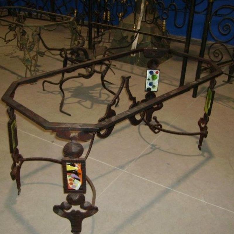 Mesas & Sillas : Productos  de Forja Artesanal Hnos. González Marrón