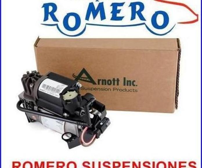 Compresor de la suspensión Mercedes serie E-CLS W211-W219: Suspensiones y vehículos de Romero Autoparts Zaragoza