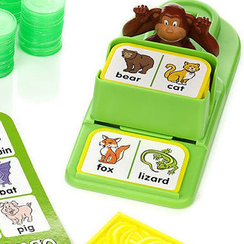 Monkey Bingo. Juega y aprende inglés