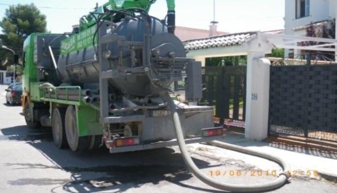 Limpieza de alcantarillado: Trabajos realizados  de Levante Instalaciones Fontanería y Gas