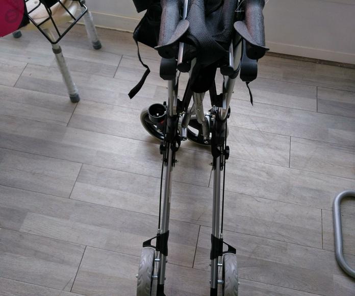 Andador Manhattan plata : Alquiler de sillas de ruedas de Atemprana