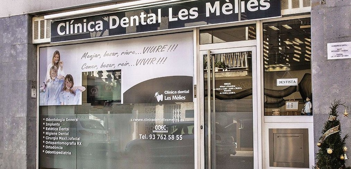 Peu de carrer Clinica Dental Pineda