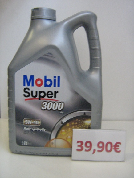 MOBIL SUPER  3000X1 5W40: Servicios de Safety Car