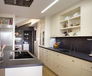 Muebles de cocina en madera estilo clásico modelo París