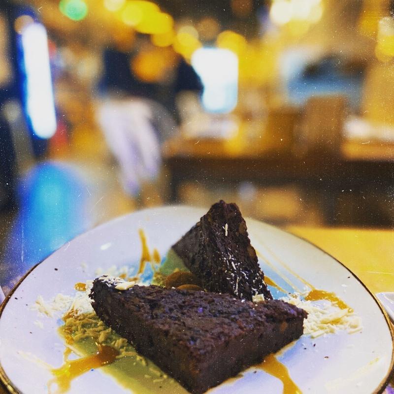 Brownie de cacao y boniato