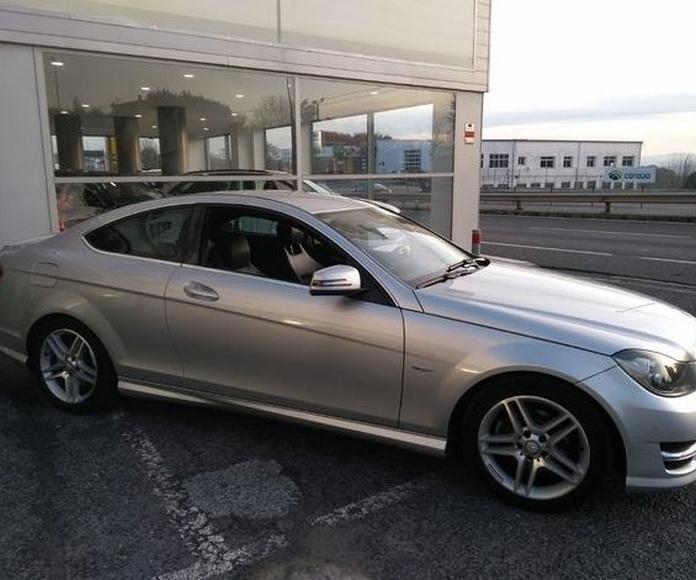 MERCEDES-BENZ C 220CDI COUPE AUTOMATICO CON LEVAS: Compra venta de coches de CODIGOCAR