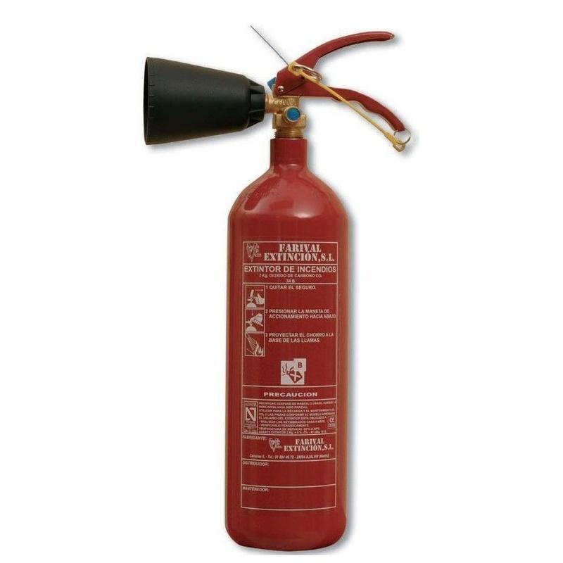 Sistemas de extinción de incendios: Productos y Servicios de MV Protección