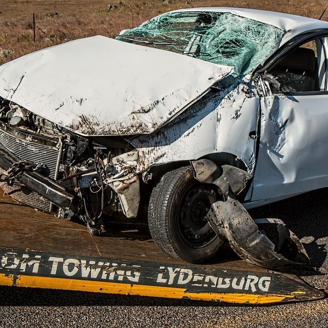 Lo que jamás se debe hacer en caso de accidente de tráfico