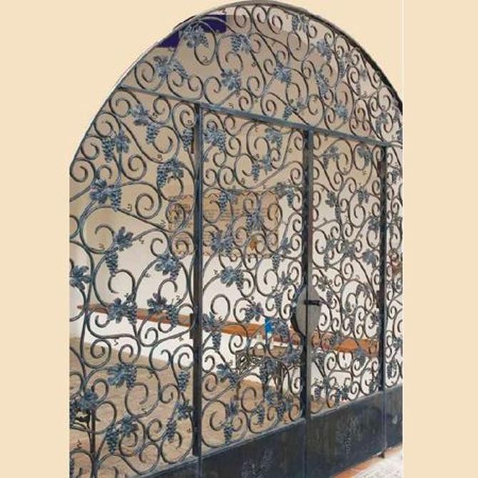 El hierro forjado, gran elemento decorativo