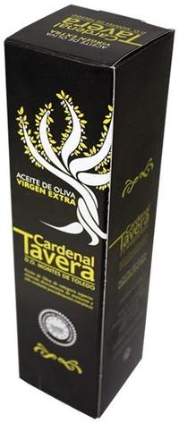 Caja para 1 botella aceite de oliva Cardenal Tavera