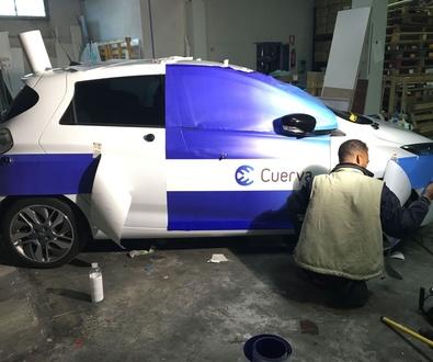 Rotulacion de Renault zoe