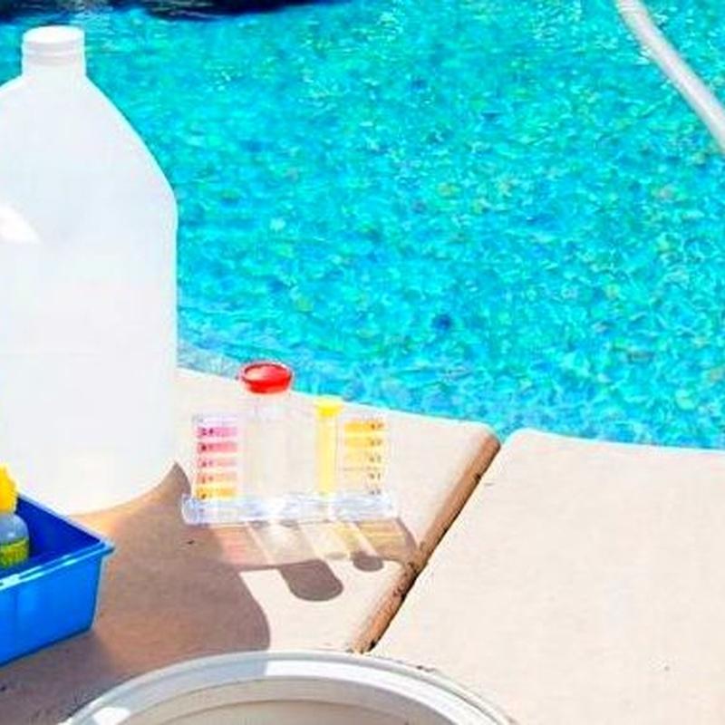 Limpieza de piscinas: Artículos de Drogas 86, S.L.