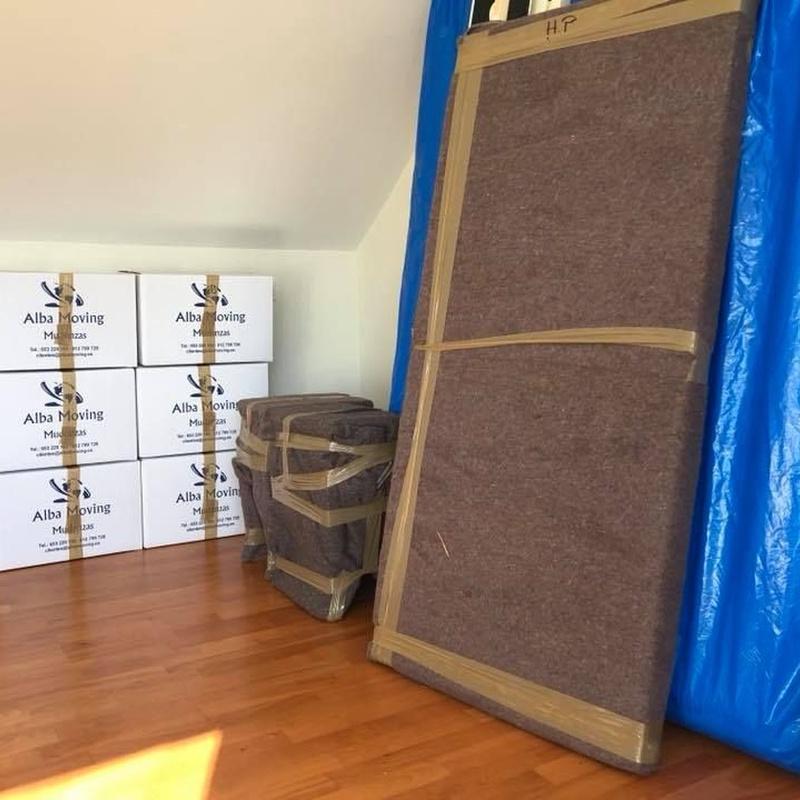Embalajes: Servicios de Alba Moving Mudanzas y Guardamuebles