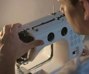 Las partes de la máquina de coser