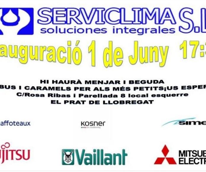 Inauguració de Serviclima al Prat de Llobregat