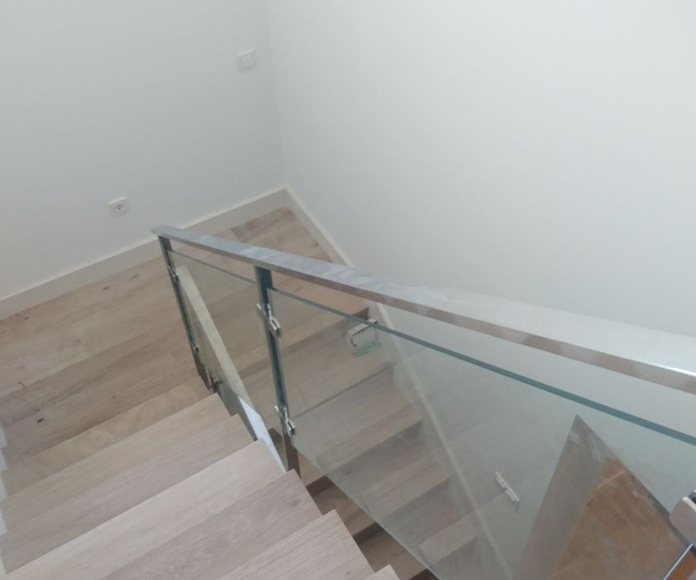 Barandillas de acero y vidrio: Nuestros trabajos de Icminox