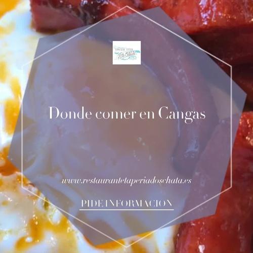 Dónde tapear en Canga | Dos Chata