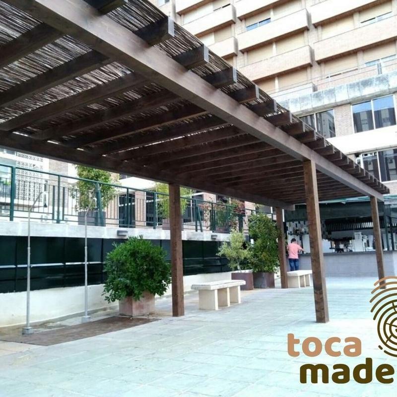 Pérgola de madera: Productos y materiales de Toca Madera