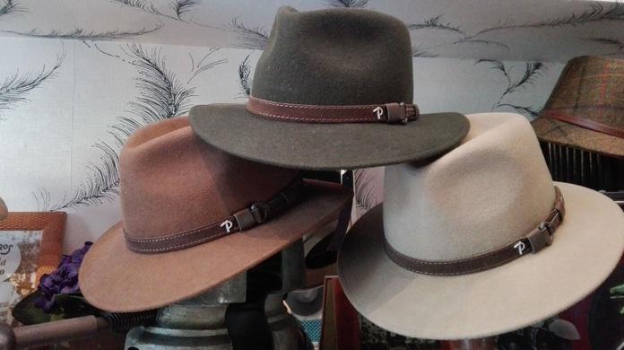 Sombreros lana impermeables